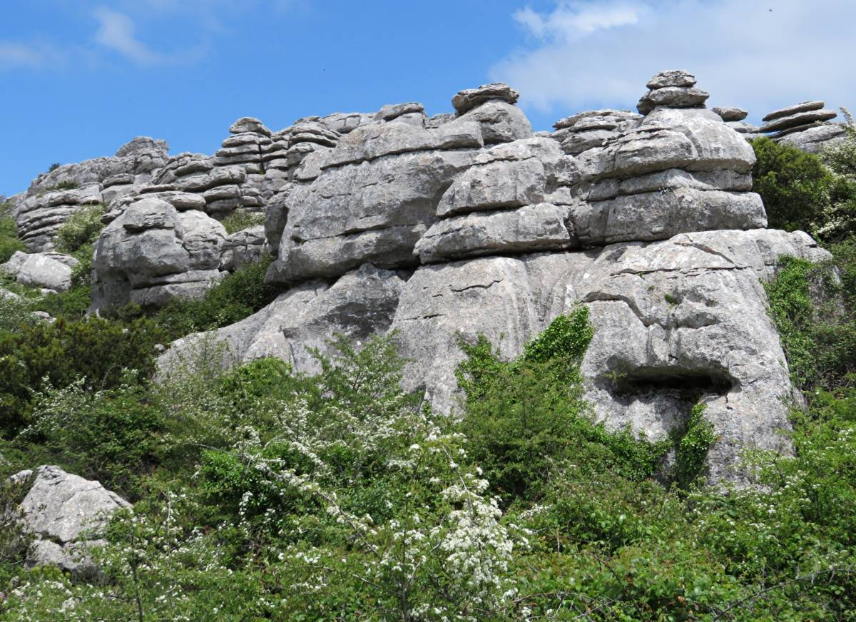 I love the rocks of El Torcal (Malaga region)