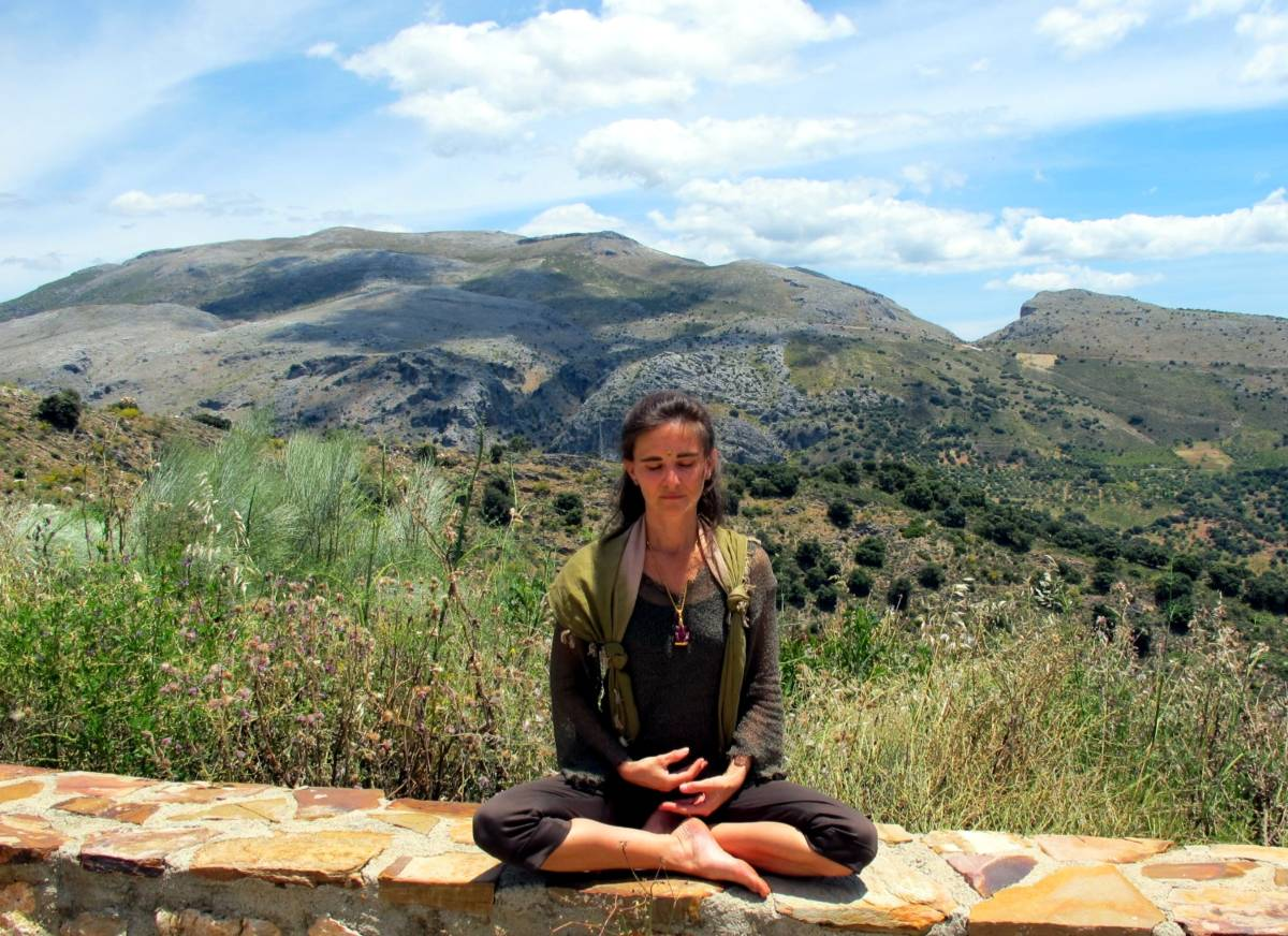 meditation in the Serrania de Ronda