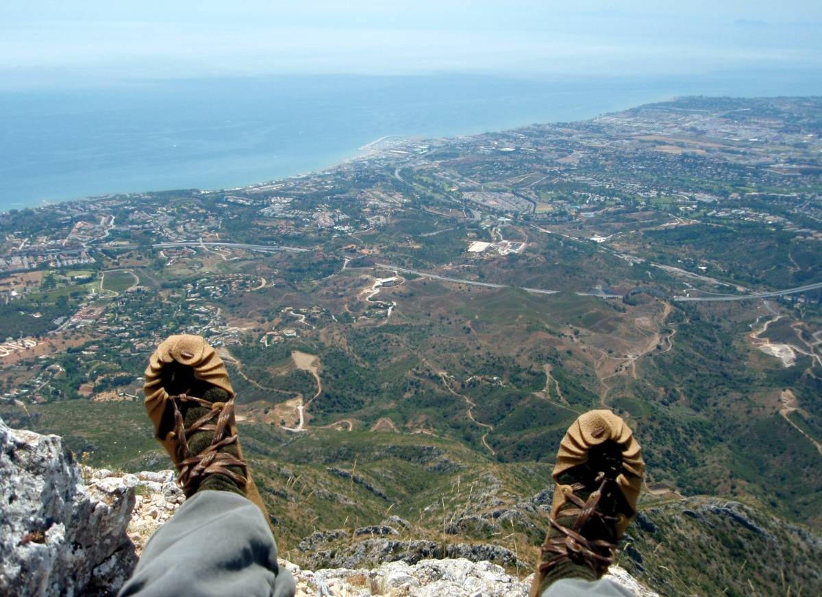on top of La Concha (view to Puerto Banus)