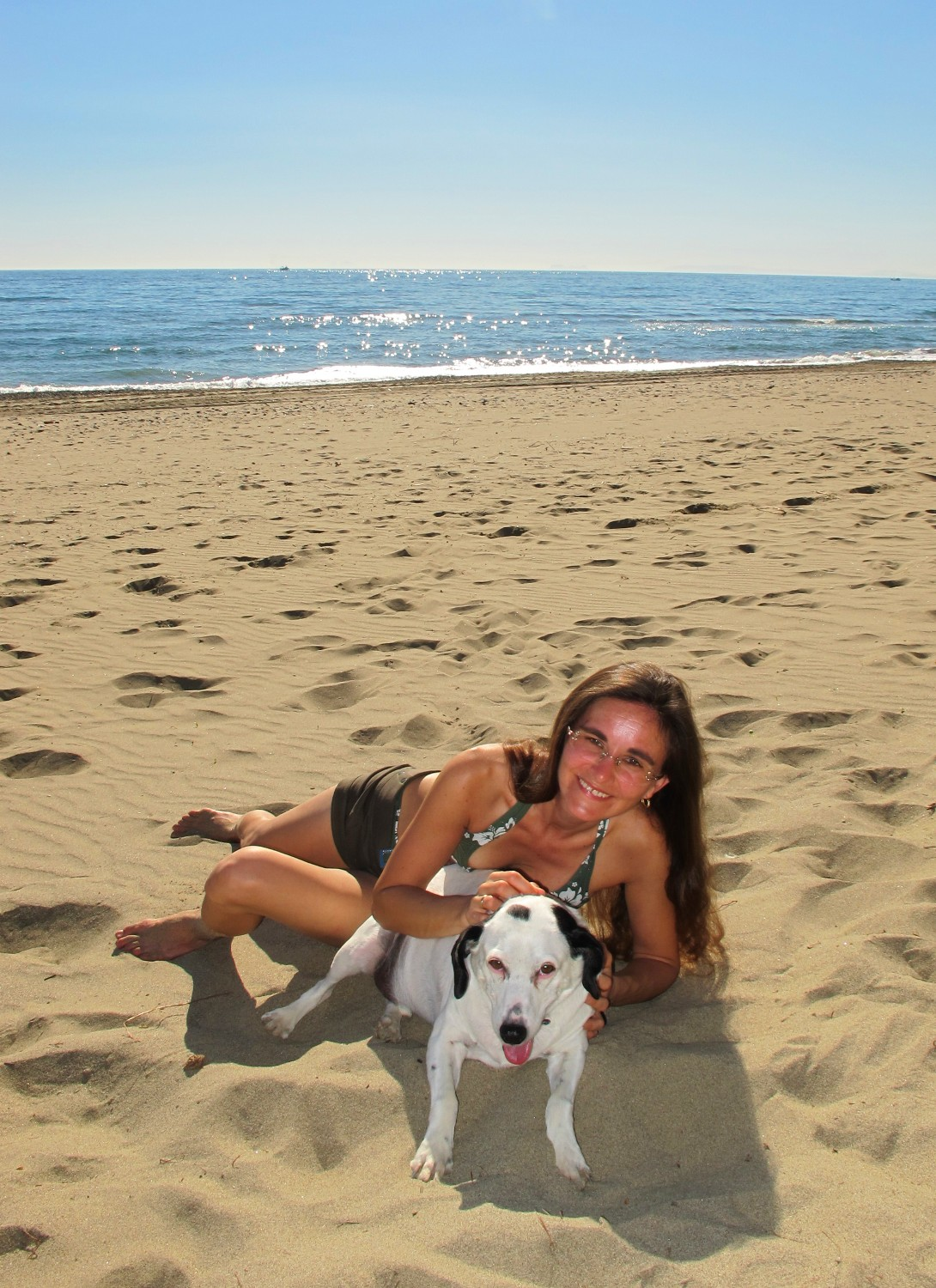 beach of Marbella with Dallas