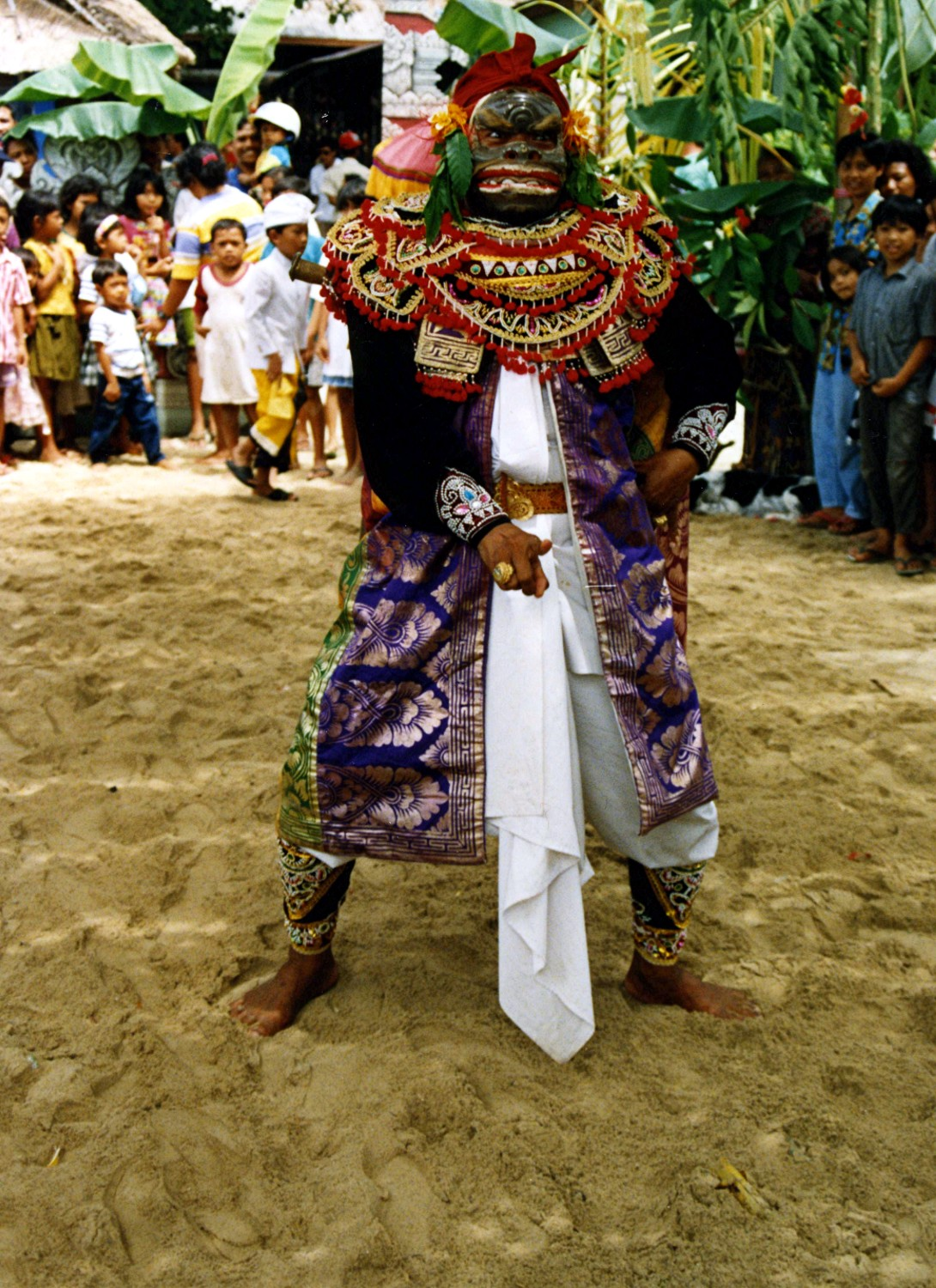 Topeng Dance at our children festival in Sanur