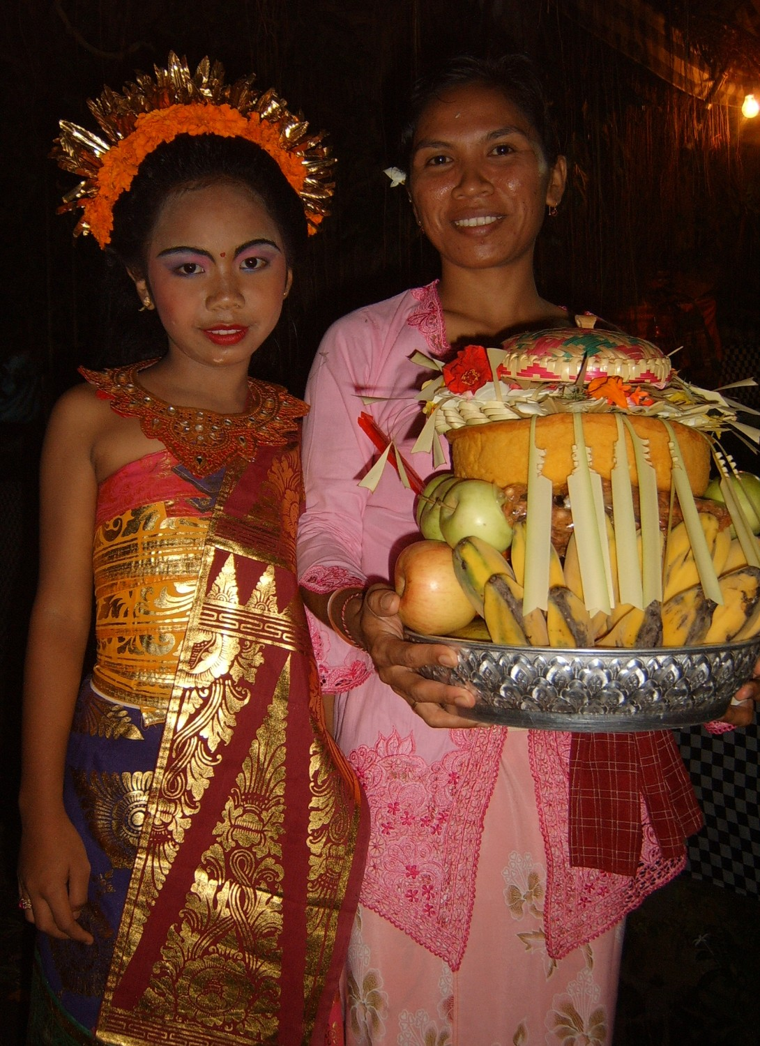 Ketut Cess and Made Ayu Aprian
