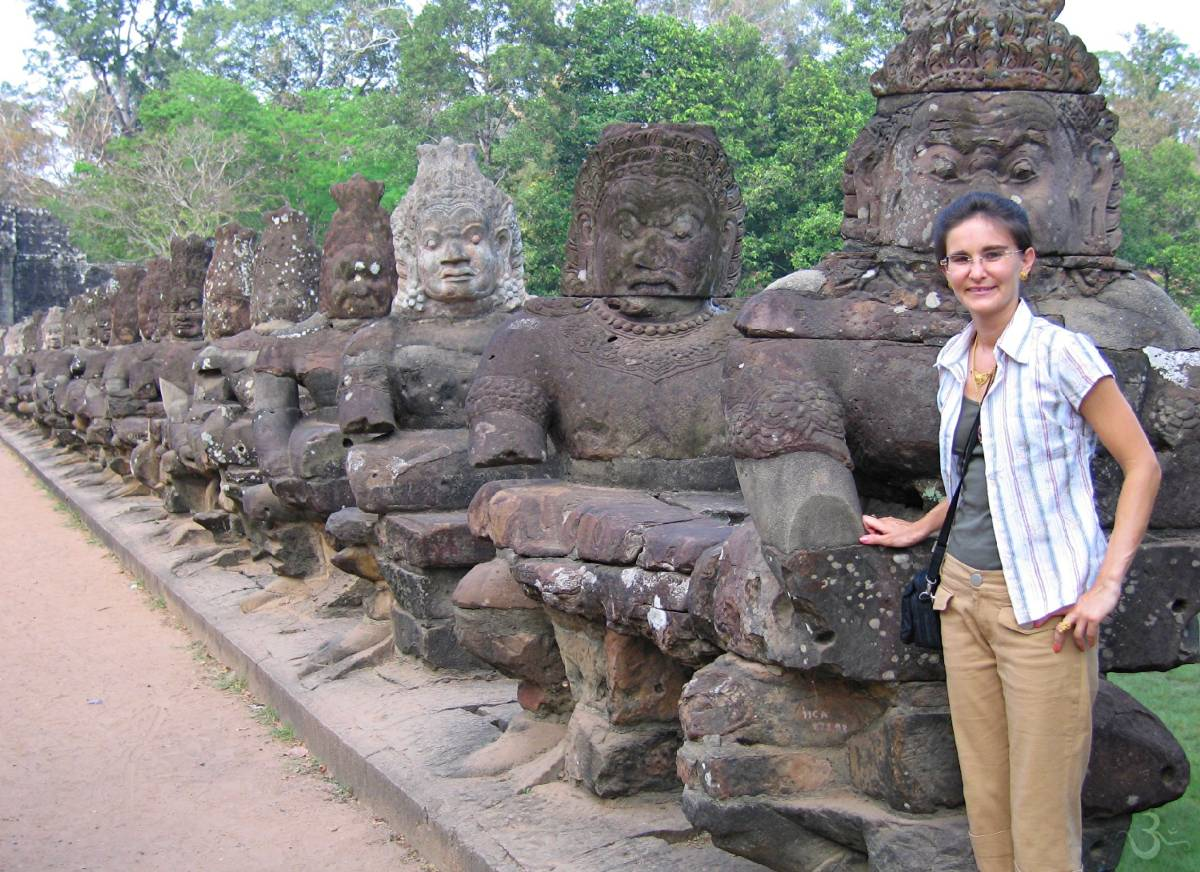 Angkor Thom South Gate (Cambodia)