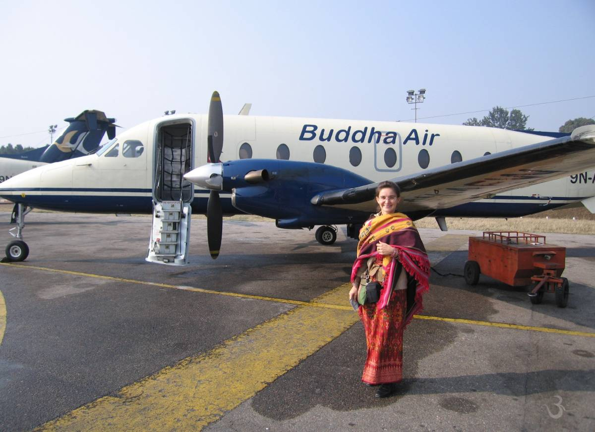 flight to nirvana (Nepal)